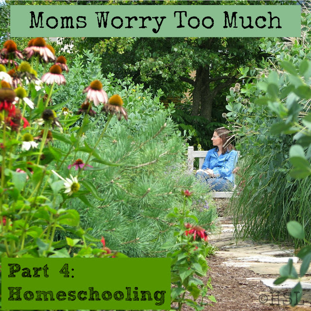 Mom worry, home education, worry versus fear