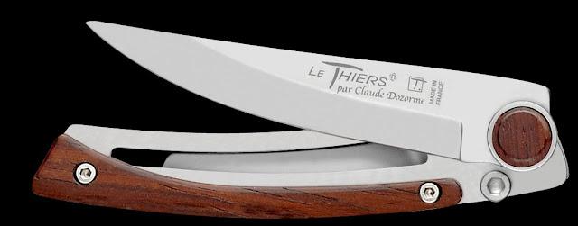 """Couteau Le """"Thiers"""" de Claude Dozorme."""
