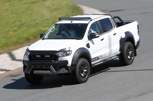 2016 Ford Ranger M-Sport 3.2 TDCi 4x4 twofold taxi survey