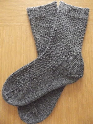 Eleanor's Grey Day Socks