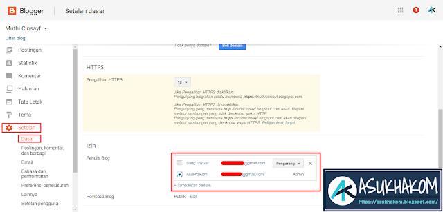 Cara Memindahkan Blog ke Akun Gmail Lain