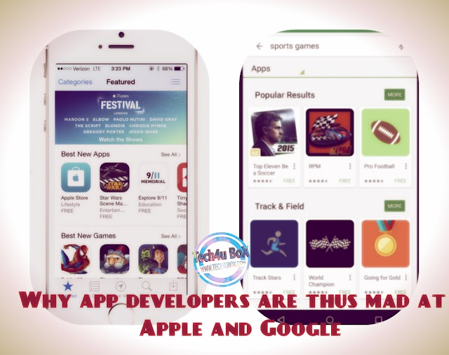 Why app developers are thus mad at Apple and Google