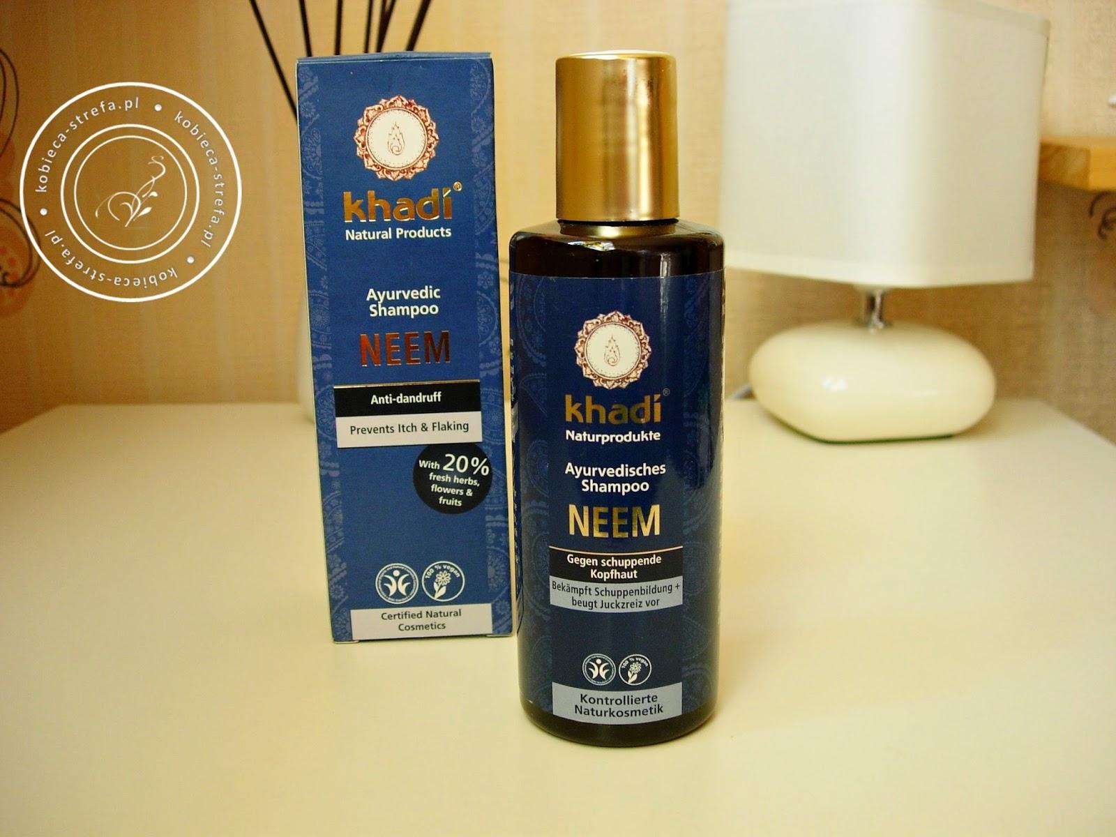 Przeciwłupieżowy szampon z Neem od Khadi - helfy.pl
