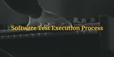Software Test Execution procedure