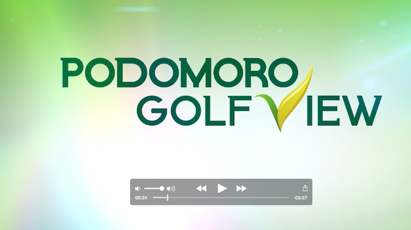 Video Podomoro Golf View