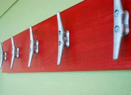 Cleat Coat Rack