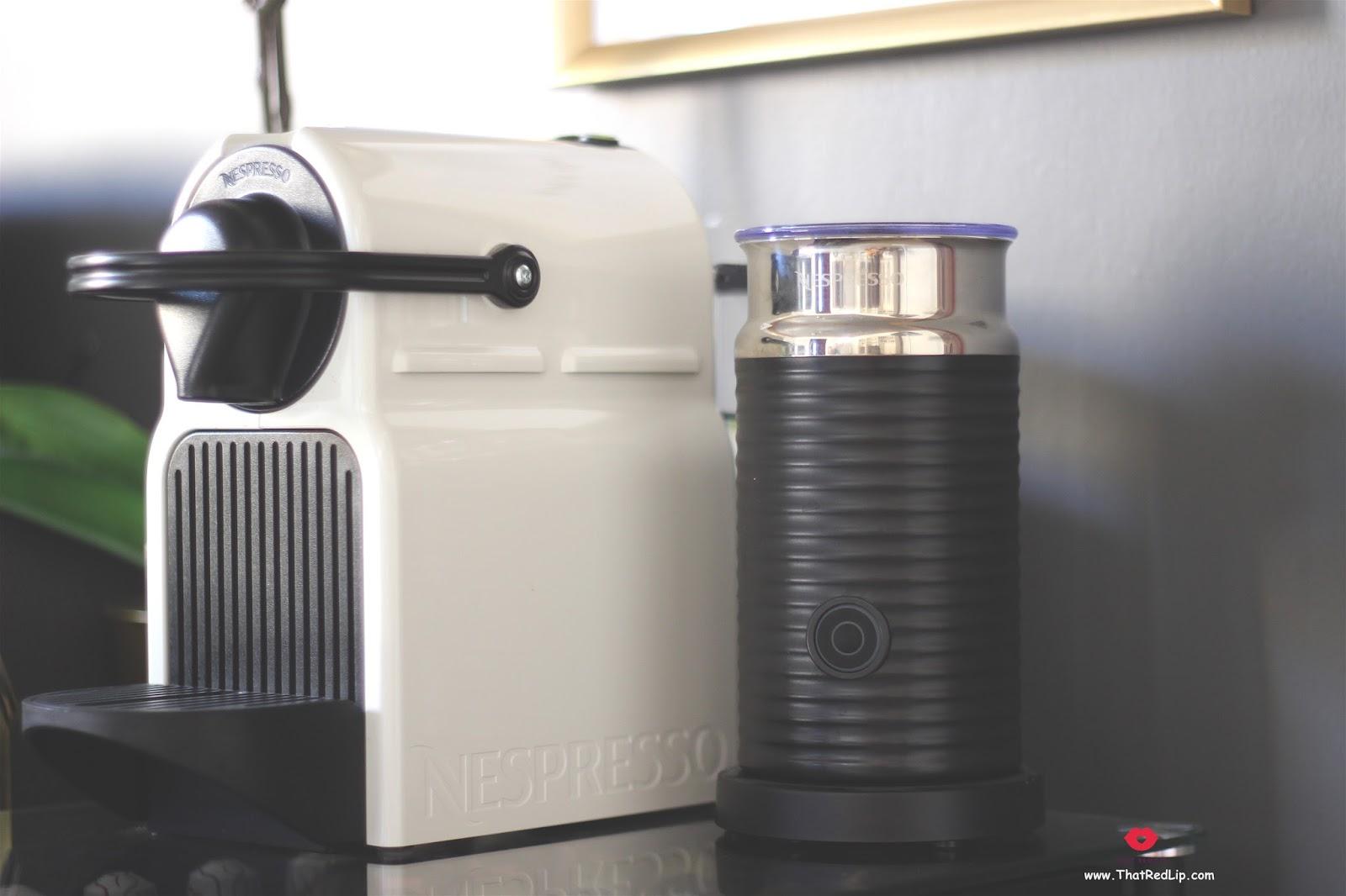 ريفيو لجهاز تحضير القهوة من نسبريسو ومحضر الحليب Nespresso