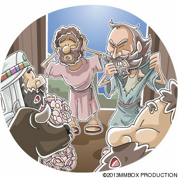 Paul and Barnabas mistaken for gods