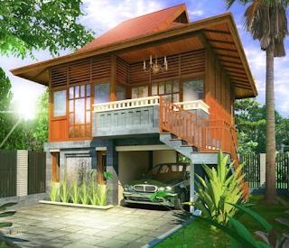 Desain Rumah Panggung Modern 2016 4