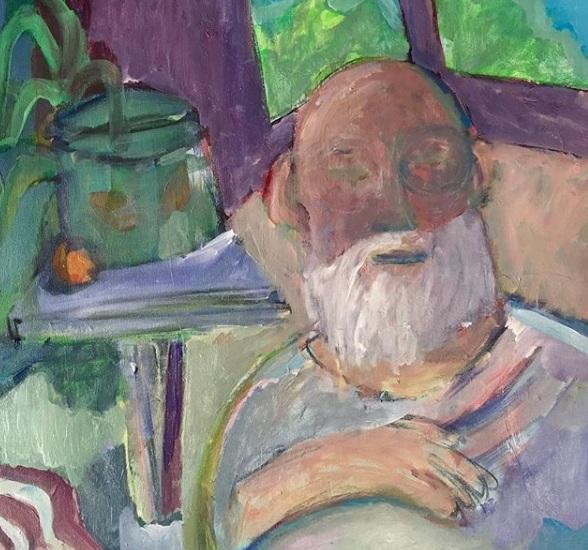 Contoh Seni Gambar Lukisan Aliran Gerakan Expressionism