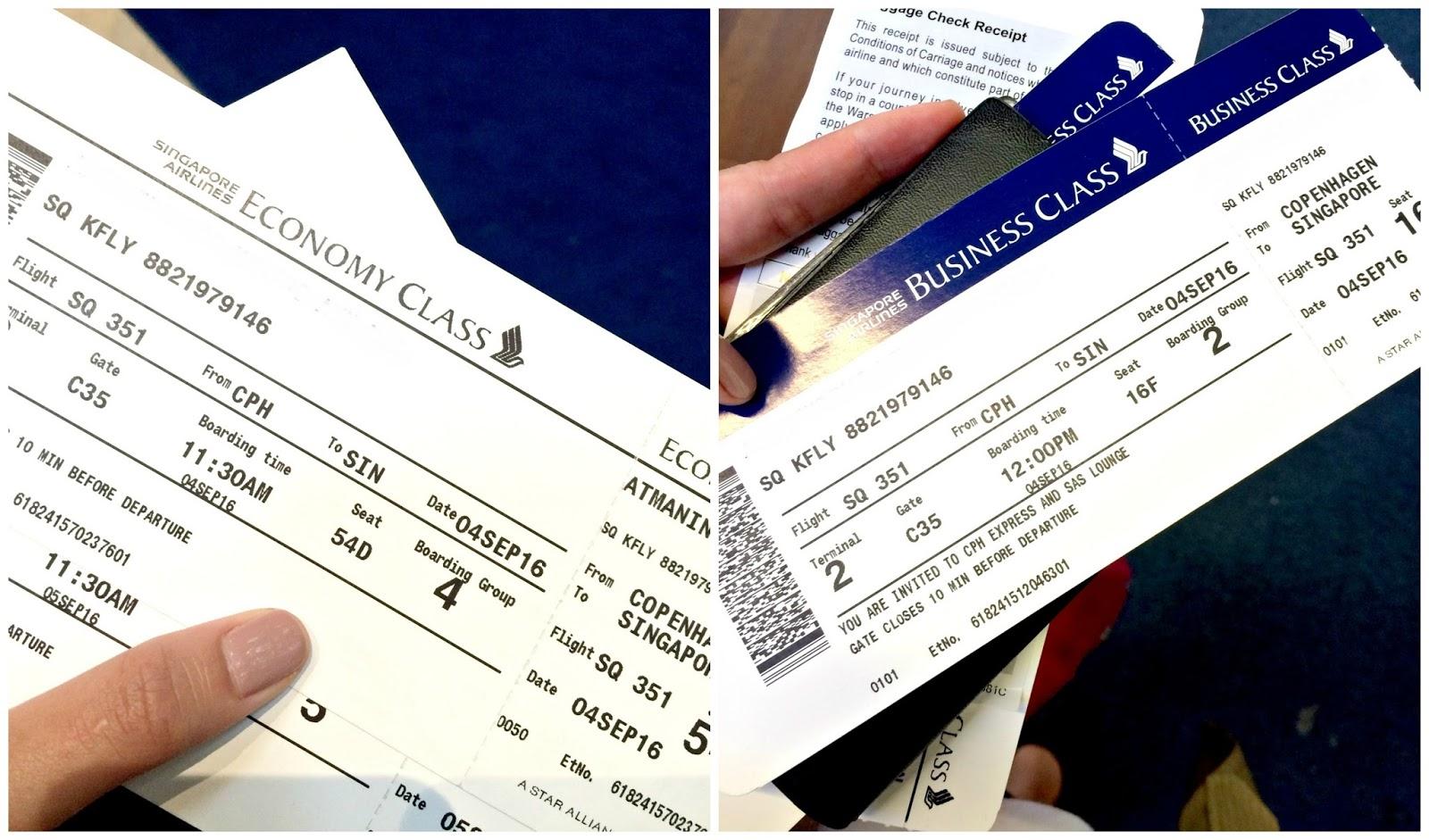 Mewahnya Penerbangan Internasional Kelas Bisnis Singapore Airlines Rute Kopenhagen Singapura Jakarta