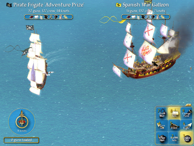 Screenshot from Sid Meier's Pirates! (2004)