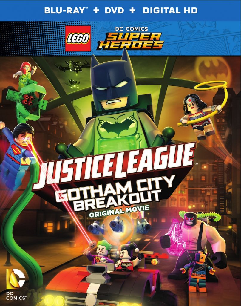 Lego DC Comics Superheroes Justice League Gotham City Breakout BD25 Descargar