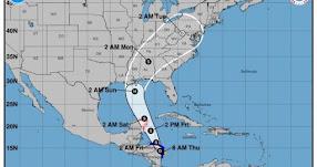 Huracán Nate toca tierra en el sur de Estados Unidos - EE.UU