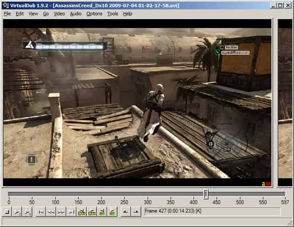Software Edit Video Ringan VirtualDub