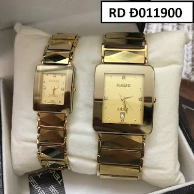 Đồng hồ đeo tay cặp đôi dây đá Rado RD Đ011900