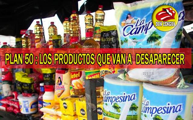 Maduro presenta este sábado la lista de 50 productos básicos que desaparecerán