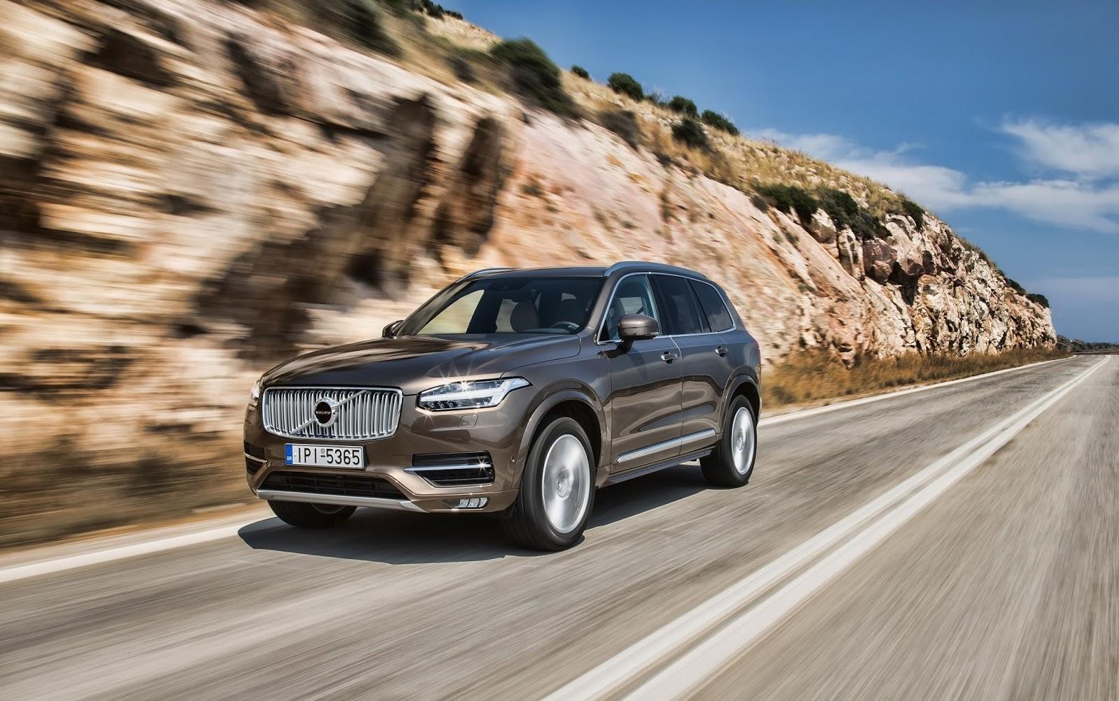 Το Volvo XC90 στην πρώτη θέση των πωλήσεων στα μεγάλα SUV στην Ελλάδα