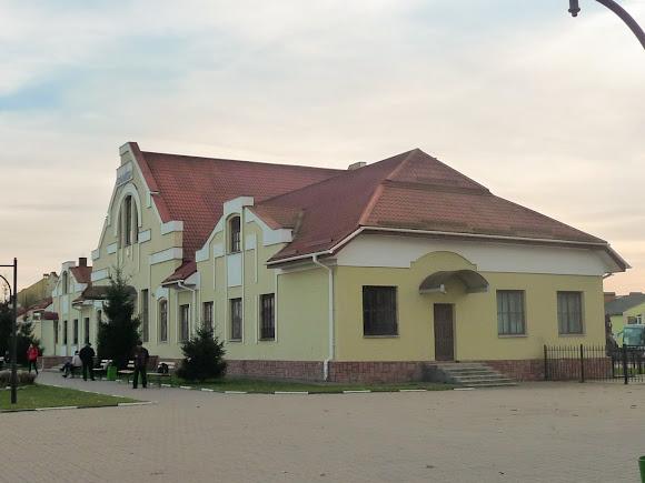 Самбор. Львовская область. Железнодорожный вокзал