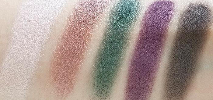 L´Oréal Paris - La Petite Eyeshadow Palette - Feminist - Swatches - Madame Keke Luxury Beauty Blog