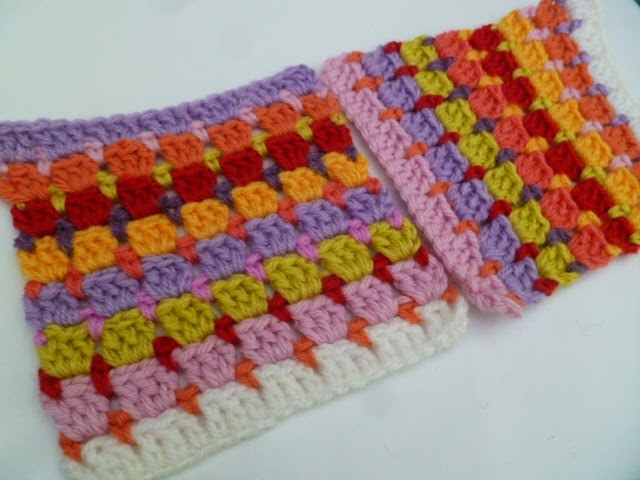 "6"" Block stitch square Pattern"
