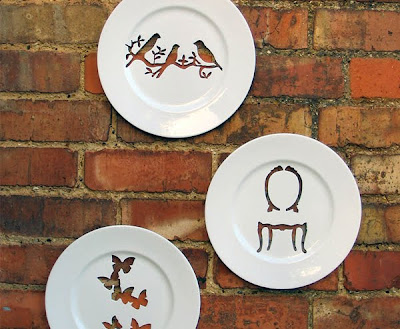 Platos decorativos muy creativos.