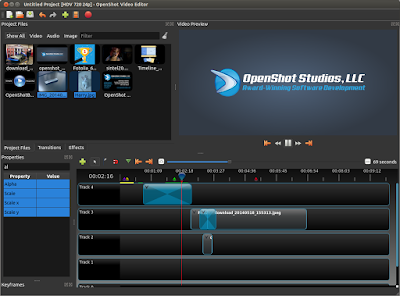 Install OpenShot di Ubuntu dan Linux Mint, Software Video Editor Gratis