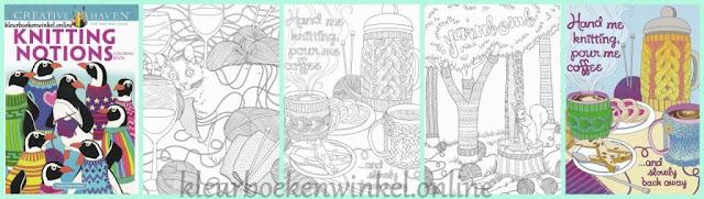 kleurboek knitting notions