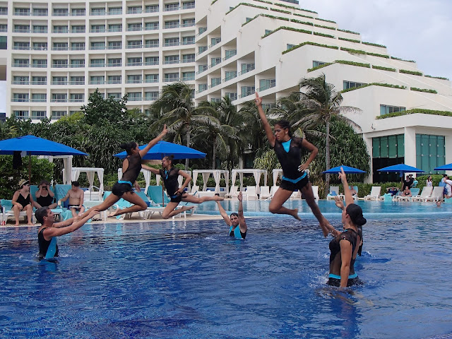 synchronized swim team