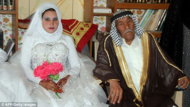 90 year old married a 22 year old in iraq