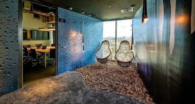 espacios de trabajo mas comodos y divertidos