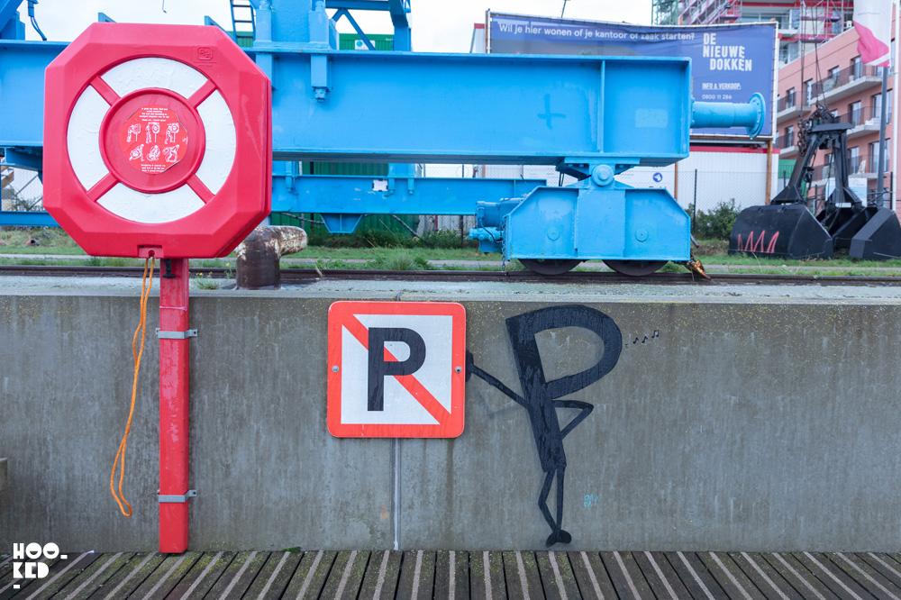 Ghent Street Art by French Street Artist OAKOAK