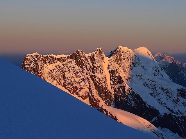 Breithorn widziany z Dufourspitze
