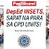 DepEd INSETS, Sapat na para sa CPD Units