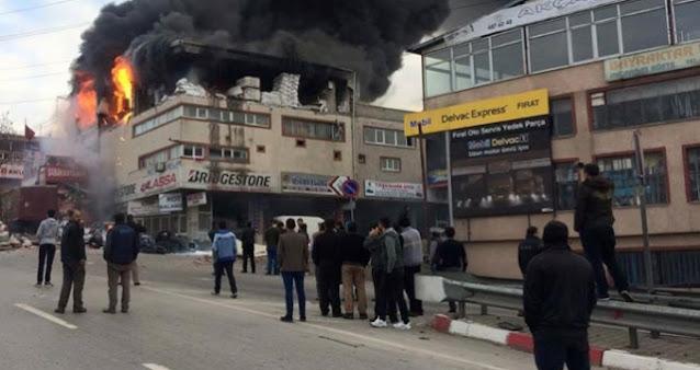 Sultanbeyli de patlama!! Yaralılar var!