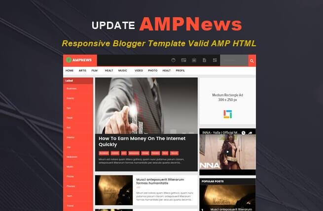 Update AMPNews