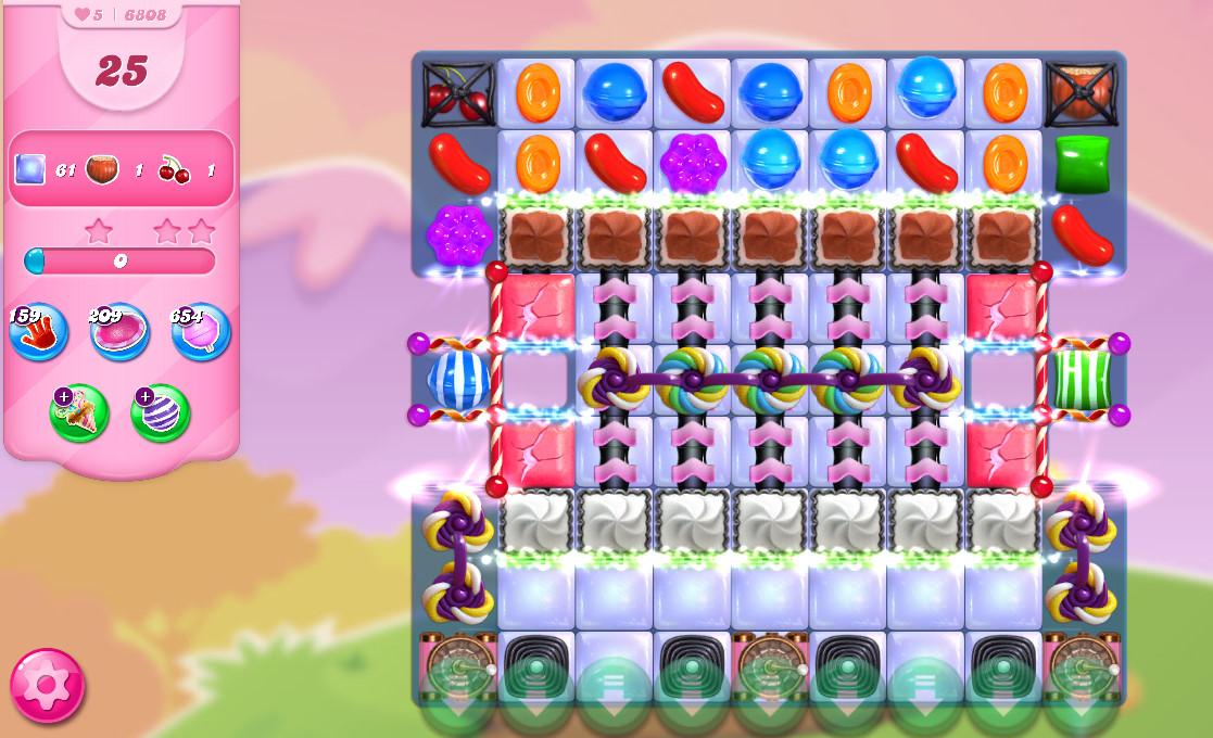 Candy Crush Saga level 6808