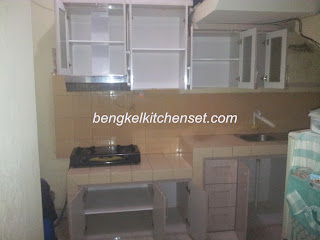 kitchen set anti air, anti karat, anti lapuk,anti rayap.