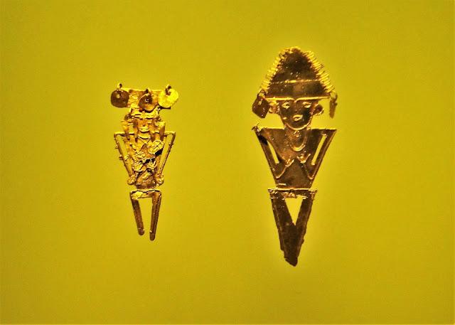 コロンビア黄金文明の寺院での修行