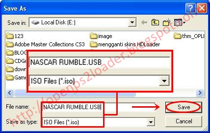 Tips & Trik Di Ps2: Tips membuat ISO game dari File Game yang di Extract