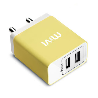 Dual Port Smart Wall Charge Adapter
