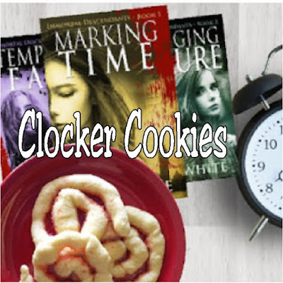 Enjoy some time traveling with spiral cookies inspired by the time travel book series Clocker Cookies. You'll enjoy some sweet, yummy cookies while enjoying a great book series.