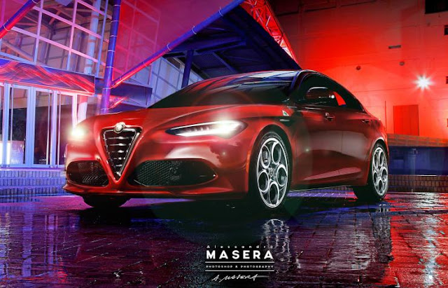 Nuova Alfa Romeo Giulia 2015