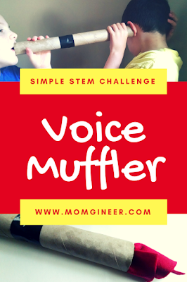 Try a sound STEM challenge - a voice muffler! | Meredith Anderson - Momgineer