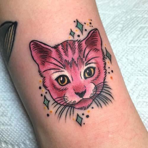 kedi dövmeleri cat tattoos 48