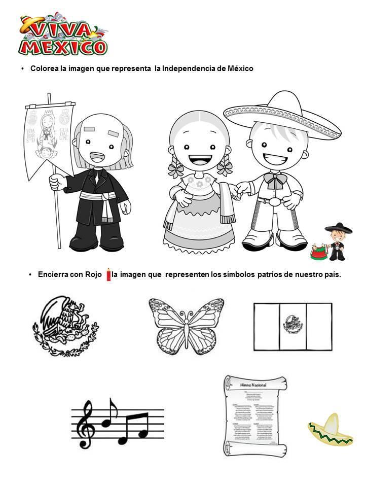 Colorear Personajes Independencia México Colorear Tus Dibujos