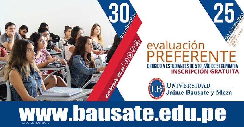 Resultados Admisión Bauzate 2018-1 (25 Noviembre) EXAMEN PREFERENTE Universidad Jaime Bausate y Meza - www.bausate.edu.pe