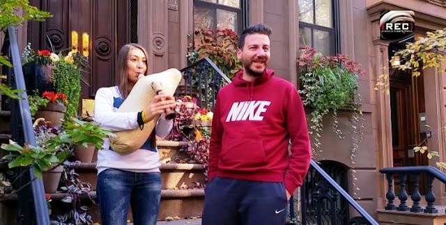 Όταν το αγγείο ακούστηκε έξω από το σπίτι διάσημης Αμερικανίδας ηθοποιού (Video)