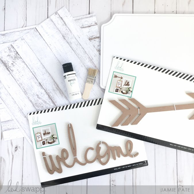 New year wall refresh with Heidi Swapp Wall Art by Jamie Pate  | @jamiepate for @heidiswapp