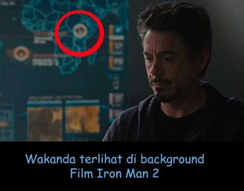wakanda di film iron man 2